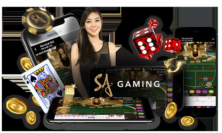 เล่นบาคาร่าออนไลน์ กับ SA Gaming
